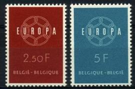 Belgie, obp 1111/12,xx