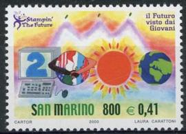 S.Marino, michel 1897, xx