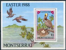 Montserrat, michel blok 48, xx