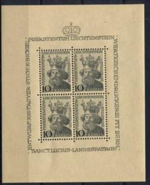 Liechtenstein, michel kb 247, xx