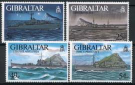 Gibraltar, michel 766/69, xx