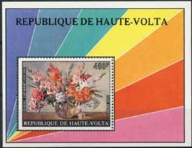 Haute Volta, michel blok 29, xx