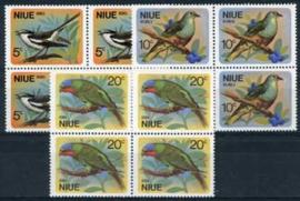 Niue , michel 116/18, bl. v.4., xx
