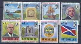 Seychelles, michel 348/55, xx