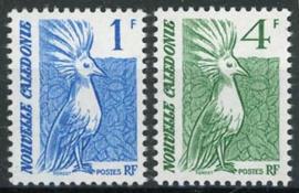 N.Caledonie, michel 841/42, xx