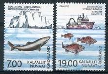 Groenland , michel 387/88 , xx