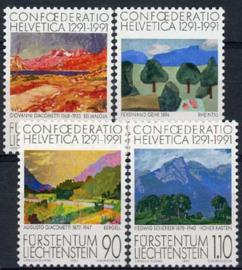 Liechtenstein, michel 1016/19, xx