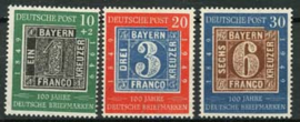 Bundespost, michel 113/15,xx