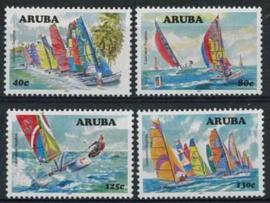 Aruba, nvph 384/87, xx