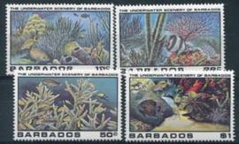 Barbados, michel 514/17, xx