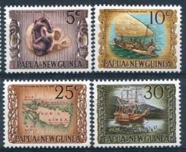 Papua N.Guinea, michel 171/74, xx