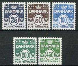 Denemarken, michel 1412/16, xx