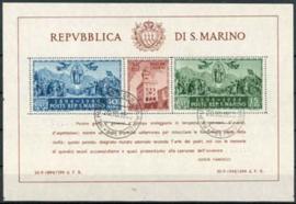 S.Marino, michel blok 4 A, o