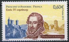 Andorra Fr., michel 753, xx
