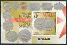 Malta , michel blok 41 , xx