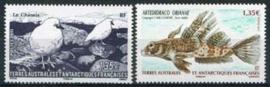 Antarctica Fr., michel 734/35, xx