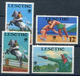 Lesotho, michel 727/30,xx
