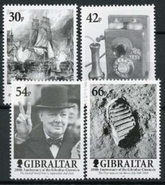 Gibraltar, michel 972/75, xx