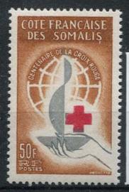 Somalie Frans, michel 350, xx