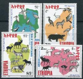 Ethiopie, michel 1645/48, xx