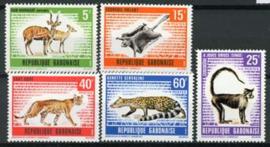 Gabon, michel 398/402, xx
