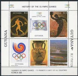 Guyana, michel blok 20, xx