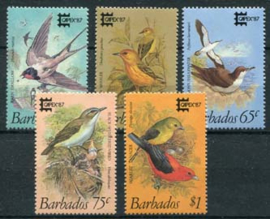 Barbados, michel 674/78, xx