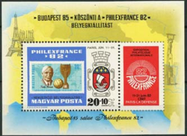 Hongarije, michel blok 157 A, xx