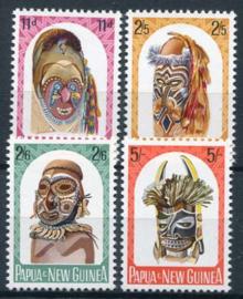 Papua N.Guinea, michel 52/55, xx