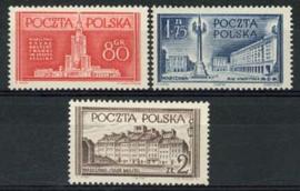 Polen, michel 824/26, xx