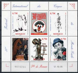 Monaco, michel blok 91, xx