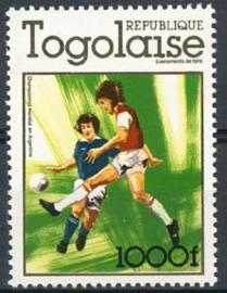 Togo, michel 1283 , xx