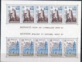 Monaco, michel blok 11, xx