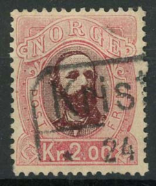 Noorwegen, michel 34, o