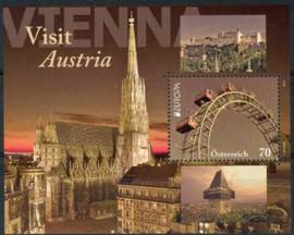 Oostenrijk, michel blok 69, xx