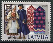 Letland, michel 598, xx