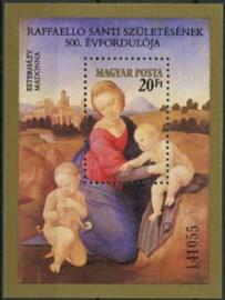 Hongarije, michel blok 164 A, xx
