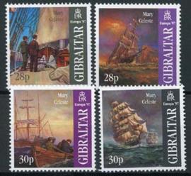 Gibraltar, michel 783/86, xx