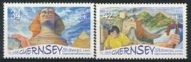 Guernsey , michel 1078/79 , xx