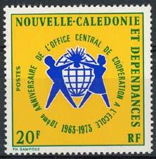 N.Caledonie, michel 541, xx