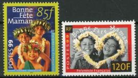 Polynesie, michel 786/87, xx