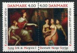Denemarken, michel 1153/54, xx