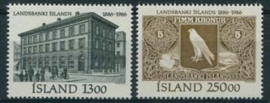 Ysland, michel 652/53, xx