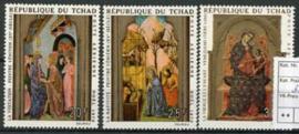 Tchad, michel 338/40, xx