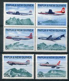Papua N.Guinea, michel 179/84, xx