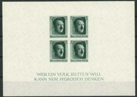 Duitse Rijk, michel blok 8, xx