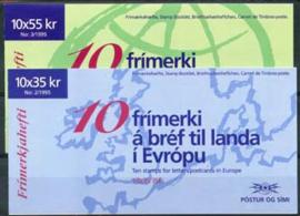 IJsland, michel MH met 826/27, xx