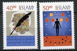 IJsland, michel 951/52, xx