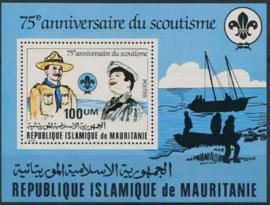 Mauretanie, michel blok 33, xx