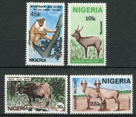 Nigeria, michel 431/34, xx